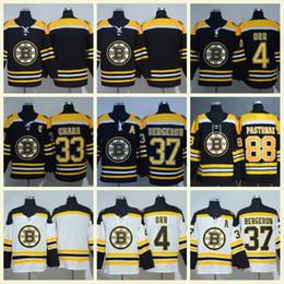 Hot Men s 2018 Boston Bruins 88 David Pastrnak 37 Patrice 63 Brad Marchand  33 Zdeno Chara 40 Rask Torey Krug Hockey Jerseys 47dfa6746