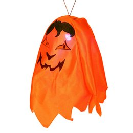 Wholesale Ghost Nights - Funny Ghost LED Lantern Night Light Halloween Supplies Party Prop Plastic