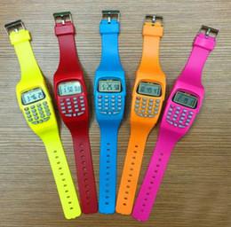 NOYOKERE Reloj Calculadora Digital con Función de Reloj LED Deportes de Silicona Informal Para Niños Cálculo Multifunción para Niños desde fabricantes