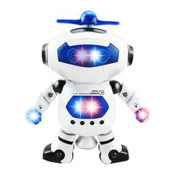 Wholesale Walking Toys Babies - 2017 New Brand Children Kids Music Light Toys Baby Electric Walking Dancing Robot