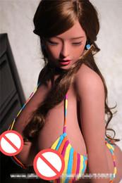 Argentina De calidad superior 85 cm muñeca del torso de silicona grande del pecho realista muñecas sexuales asiáticas vagina real coño sextoys adultos para hombres Suministro