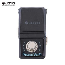 Pomelli digitali online-JOYO JF-317 Space Verb Digital Reverb Mini pedale effetti chitarra elettrica con manopola guardia True Bypass