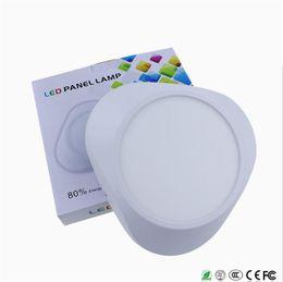 2019 farbe wechselbares glas Ultradünne LED-Einbauleuchten SMD2835 12W 18W Downlight AC85-265V für Deckeneinbauleuchten aus Aluminium