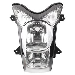 Wholesale Er 6n - Motorcycle Front Headlight Head Lamp Assembly for Kawasaki ER 6N 2009 2010 09 10