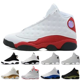 Wholesale cheap home fabric - Cheap New 13 mens basketball shoes Altitude Green CP3 PE Home Ray Allen DMP sneakers women sports trainers running shoes for men designer