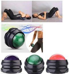 2019 massothérapie retour Massage Roller Ball Massager Thérapie Du Corps Pied Hanche Dos Relaxant Relâchement Du Stress Relaxation Musculaire Roller Ball Massager Du Corps KKA6152 massothérapie retour pas cher
