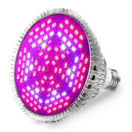 Wholesale led grow light flowering - Led Grow Light Bulb 30W 50W 80W E27 Grow Plant Lamp Full Spectrum Bulb for Flowering Lighting Indoor Garden Greenhouse Hydroponic Growing