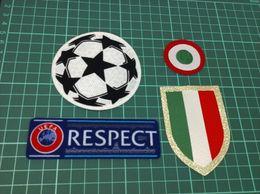 Vito on-line-Liga dos Campeões Italia Calcio patch Ju vito 15-18 red coppa Italia Círculo Scudetto patch Scudetto + Italy Cup patch