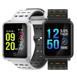 N88 Smart Watch Мужчины Smartwatch Женщины Водонепроницаемый Монитор Сердечного ритма Артериального Давления Спорт Браслет Фитнес-Трек Band Будильник PK fitbit от Поставщики дети, отслеживающие умные часы