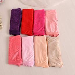 Wholesale Cheap Woman Brief Panties - Cheap wholesale 10Pcs lot Lace Flower Sexy Lingerie women underwears plus size 6XL big size women's panties briefs