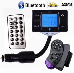 2019 flash player mp3 Transmissor de FM Handfree do jogador MP3 do carro com telecontrole do volante, disco instantâneo do apoio USB SD desconto flash player mp3