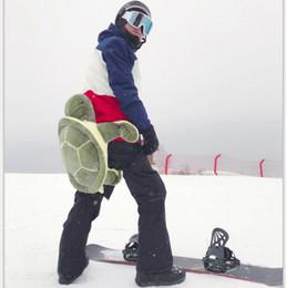 almohadillas de snowboard Rebajas Protección para la cadera Tailbone Turtle Ladybug Cojín para el esquí Patinaje Snowboard Buttocks Pads para adultos y niños 12pcs OOA4473
