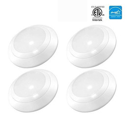 Wholesale Bedding Packs - LED Downlight 4 Inch 11W Dimmable LED Surface Recessed Mount Disk Light with ETL Energy Star Approved, Wet Location, 4-Pack