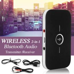 2018 Nuevo 2 en 1 Transmisor Receptor Bluetooth Inalámbrico A2DP Bluetooth V4.1 HIFI para TV PC Auriculares MP3 Estéreo Adaptador de Audio para Coche desde fabricantes