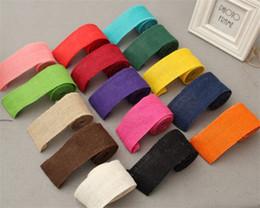 Accesorios de embalaje de ropa online-Colorido accesorios de ropa de bricolaje 6cm embalaje de regalo rollo de cinta decoración del banquete de boda venta caliente 2 8tn C R