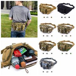 Molle camo taschen online-Mehrzweck Poly Werkzeughalter EDC Pouch Camo Bag Nylon Utility Taktische Hüfttasche Camping Wandern Tasche mit Molle system MMA1098 50 stücke