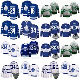 Wholesale Leafs Toronto - Men's #34 Toronto Maple Leafs 16 Mitch Marner 29 Nylander 100th Centennial Classic St Pats Stadium Series Jersey