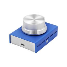 Pomelli digitali online-Controllo volume USB DROK Lossless Computer Computer Speaker Regolatore manopola Manopola Regolazione con funzione di silenziamento a un tasto Digital Remot