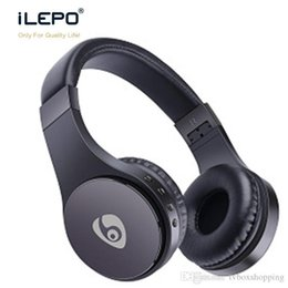 Wholesale Gaming Wireless Card - S55 Wireless Bluetooth Headphones Gaming Headset Stereo Foldable Earphone With Mic TF Card Long Time Playing Retail Package