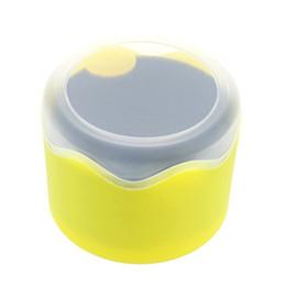 Canada Boîte de montre simple ronde en plastique avec coussin éponge supplier plastic box sponge Offre