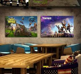 2019 tuiles de son Fortnite Battle Royale Jeu Affiche Peinture Murale Affiches Et Estampes Toile Art Mur Photos Jeu Affiche Stickers Muraux 300 pcs