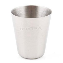Wholesale Mini Drinking Glasses - Polished Mini 35ml Stainless Steel Wine Drinking Shot Glasses Barware Cup