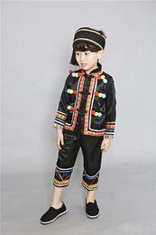 Argentina Minorías étnicas de Yunnan Disfraces de danza Miao Disfraces de hombres y niños Perfumes Hmong cheap miao clothes Suministro