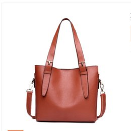 Wholesale Large Christmas Bow Tie - 4colors choose high quality genuine leather handbags luxury designer handbags with large capacity shoulder bag cross body bags