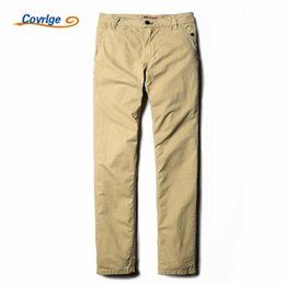 Wholesale Khaki Overalls Men - Wholesale- Covrlge Pants Men Militar Men's Sweatpants 100% Cotton Brand-Clothing Khaki Overalls for Men Male Cargo Trousers Pants MKX01