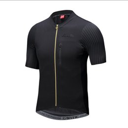 Santic Men Pro Team Cycling Short Jersey Seamless Cuff Imported High  quality Fabric Road Bike Short Sleeve Cycling Clothings b5f48ff54