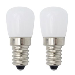 Wholesale Fridge Bulbs - NEW Dimmable E14 220V 3W Bright LED Refrigerator Light E12 110V mini bulb lamp for Fridge Freezer Crystal Chandeliers