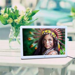 2019 рамы для картин mp4 1280*800 цифровой 15-дюймовый HD TFT-LCD фоторамка будильник MP3 MP4 Movie Player с дистанционным управлением дешево рамы для картин mp4