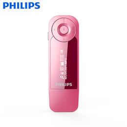 mp3 player flac Rabatt Philips Original 8 GB HIFI MP3-Player MINI Sport-Laufclip mit Kopfhörern FM-Radio FLAC WMA MP3-Format