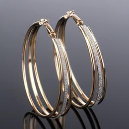 Boucles d'oreilles de l'usine de design en Ligne-Bijoux fantaisie New Design u forme petit cercle boucles d'oreilles en argent pince à bout creux manchette boucles d'oreilles Manchette en gros