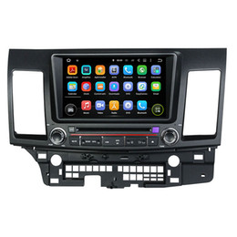 Wholesale Lancer Rear - 8Inch Octa-core Andriod 6.0 Car DVD player for MITSUBISHI Lancer 2006-2012 with GPS,Steering Wheel Control,Bluetooth, Radio