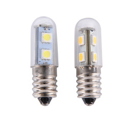 Wholesale Fridge Bulbs - 1pcs Mini E14 LED Bulb Chandelier Spotlight Corn Bulbs Fridge Refrigerator Light