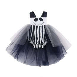 e768505a51cf lolita outfits Canada - Lovely Cute Newborn Toddler Baby Girls Infant Lace  Black Lace Halloween Print