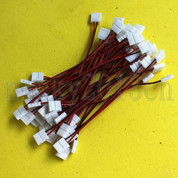 Wholesale Led Strip Light Cable Single - 2 Pin 8mm10mm Width Extension Connector Double Clips Cable Wire for LED Single Color Strip Light