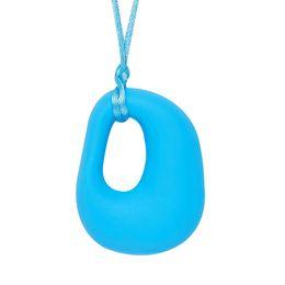 D em forma de jóias on-line-Silicone dentição colar D forma pingente bebê mordedor charme BPA livre Silicone Chew pingente Beads jóias de enfermagem Multi cores
