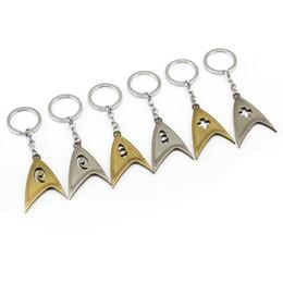 2019 brinquedos de carro estrela Filme Star Trek Chaveiros NEW Toys Metal Pingente chaveiro chave do carro para Mulheres e Homens Fãs HF12027 brinquedos de carro estrela barato