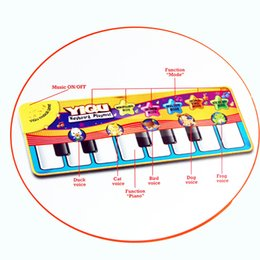 Wholesale Musical Play - kids music mat children detachable washable touch infant play keyboard musical music singing crawl gym carpet mat pads cushion rugs BBA38