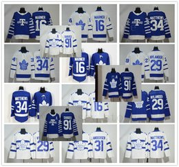 09293cf0ad9 Men Youth Women Kids Toronto Maple Leafs 34 Auston Matthews Jersey 91 John  Tavares Hockey Mitchell Marner William Nylander Frederik Andersen