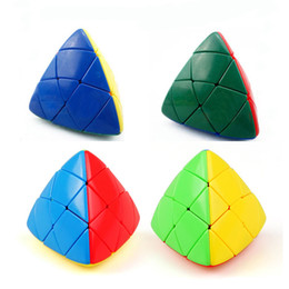 Wholesale Fun Shapes - Triangle Magic Cube Special Shape Puzzle Toys Intelligence Development Props Fun Decompression Tool Relief Stress High Quality 7 48yj Z