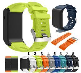 2019 verstellbare silikonarmbänder Für Garmin vivoactive HR Silikon Smart Armband Armband Armband Einstellbare Stilvolle Ersatz Band Zubehör rabatt verstellbare silikonarmbänder