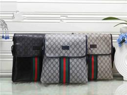 Argentina moda hombres y mujeres paño patrón maletín portátil femenino OL trabajo de negocios bolso de marca bolsa de hombro Suministro