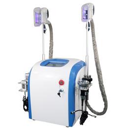 Wholesale new machining technology - New technology weight loss cryolipolysis fat freezing slimming machine 2 cryo handles body sculpting ultrasound cavitation rf lipolaser