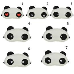 1 pcs charmant panda oeil masque ombre mignon reste de repos ? partir de fabricateur