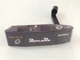 Wholesale Putter Heads - RomaRo Tour Model Putter Black RomaRo Golf Putter RomaRo Golf Clubs 33 34 35 inch Steel Shaft With Head Cover