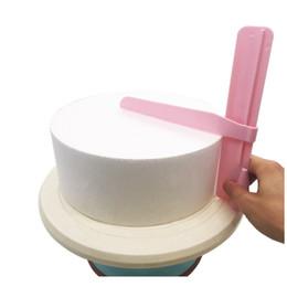 Raspador de bolo Smoother Fondant Ajustável Espátulas Bolo Borda Mais Liso Creme Decoração DIY Bakeware Utensílios de Cozinha Bolo Ferramenta de
