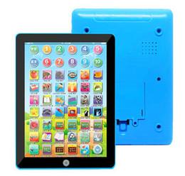 Learn Toys Educational Teach Toy English Learning Toys электронный ноутбук планшет Pad компьютер для детей высокое качество детский подарок от